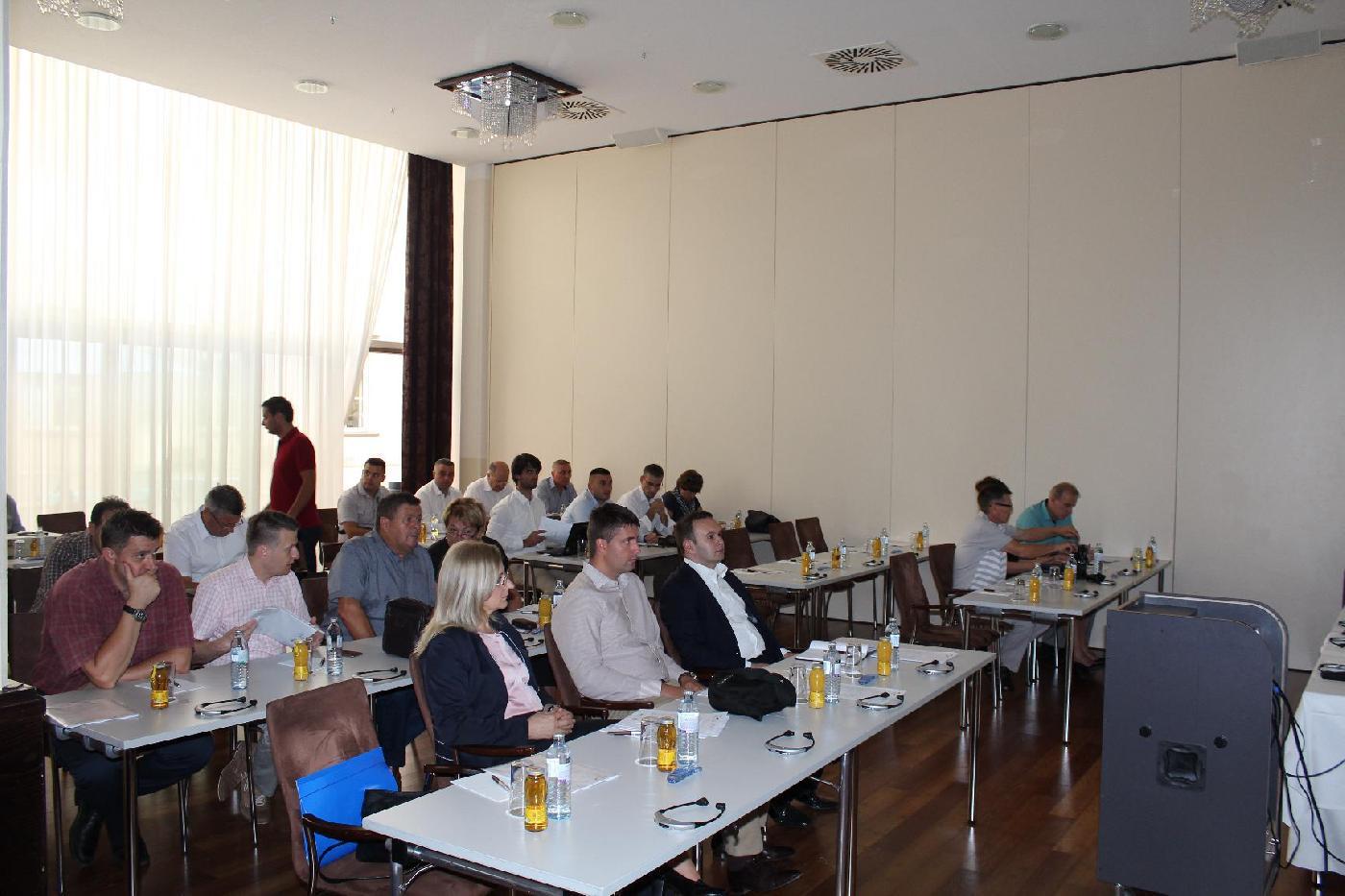 Projekat ''Smanjenje neprihodovane vode u Jugoistočnoj Europi'' - obuka za donosioce odluka